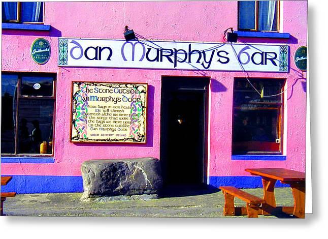 Dan Murphy's Bar Greeting Card