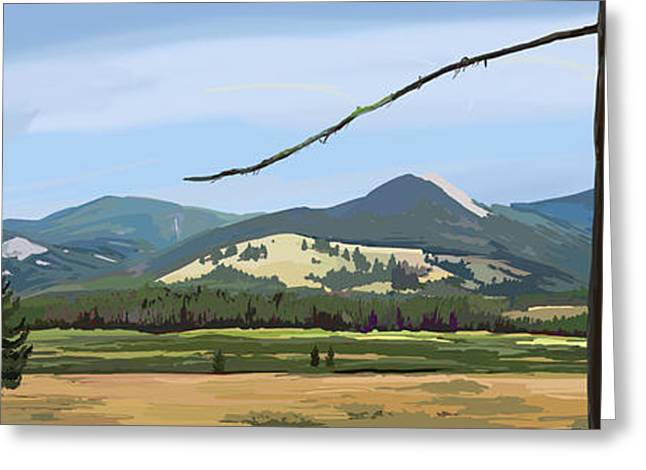 Danaher View Panorama Greeting Card