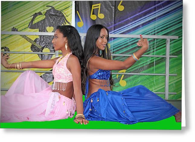 Dance Dance Greeting Card