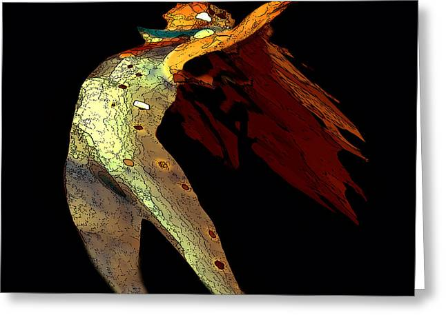 Dance Free Greeting Card by Artist and Photographer Laura Wrede