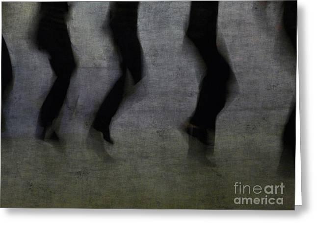 Dance Greeting Card by Jeff Breiman