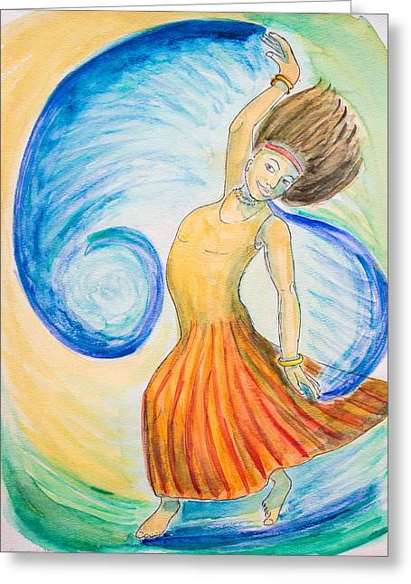 Dance Of Joy Greeting Card