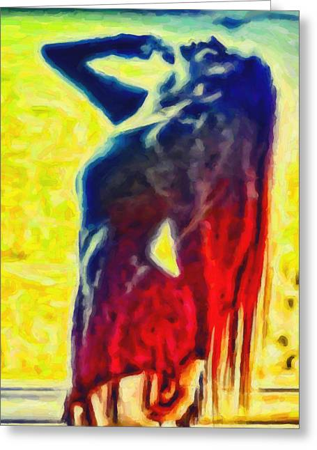 Dance Of Passion Greeting Card