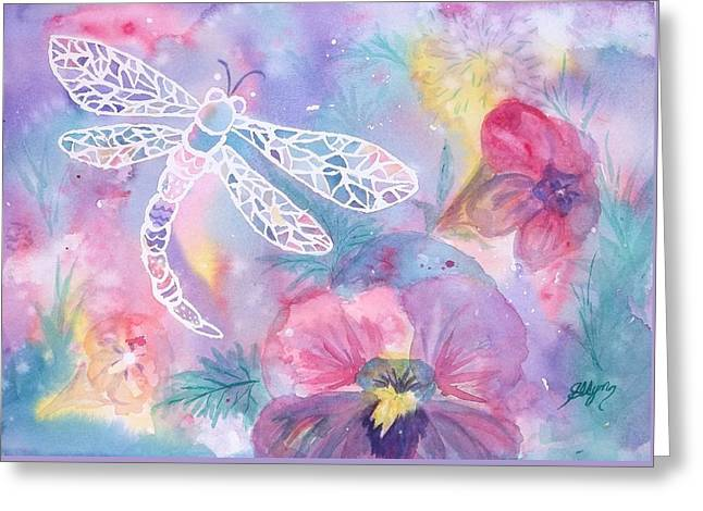 Dance Of The Dragonfly Greeting Card
