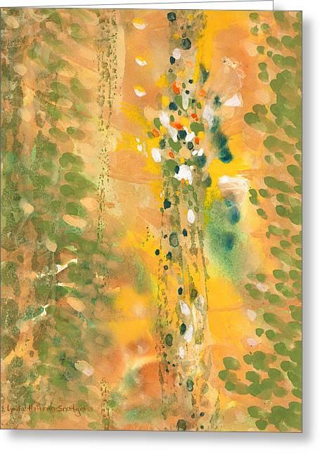 Dance Of The Elementals Greeting Card by Lynda Hoffman-Snodgrass