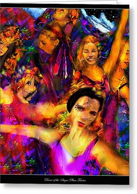 Dance Of The Sugar Plum Fairies Greeting Card
