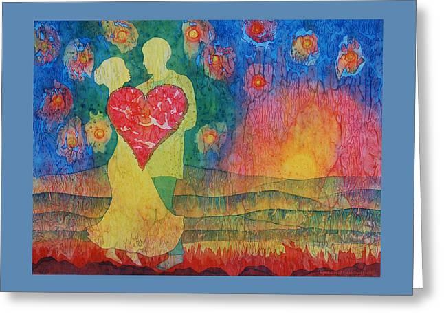 Danced Until Dawn Greeting Card by Lynda Hoffman-Snodgrass