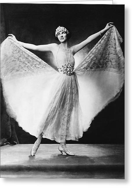 Dancer Irene Castle Freman Greeting Card