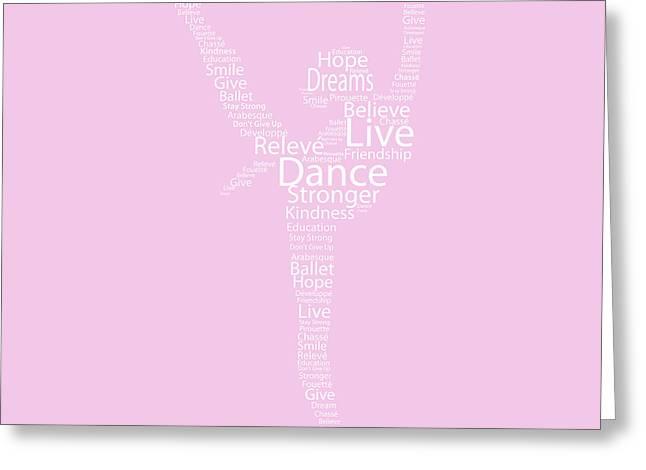 Dancer Live, Dance, Dream Greeting Card by Kike Calvo