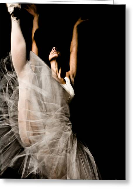 Dancer Greeting Card by Marco Affini