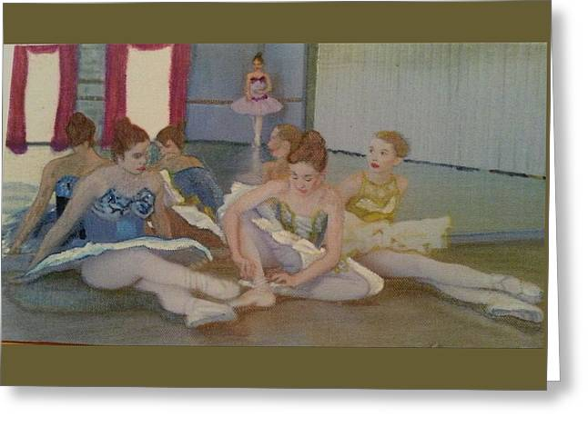 Dancers Take Five Greeting Card