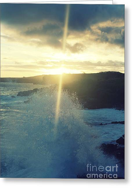 Dances With Light Greeting Card by Deena Otterstetter