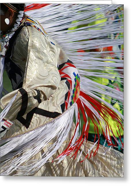 Dancing For The Ancestors Greeting Card
