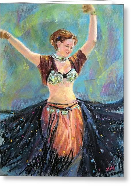Dancing In The Air Greeting Card