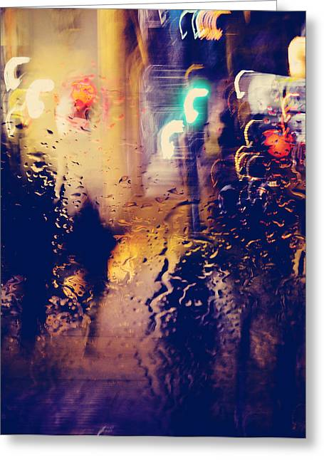 Dancing Nights Bare Greeting Card by Jerry Cordeiro