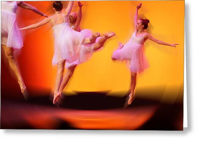 Dancing On Air Greeting Card by Thomas Fouch