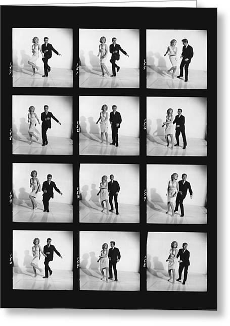 Dancing The Twist Greeting Card