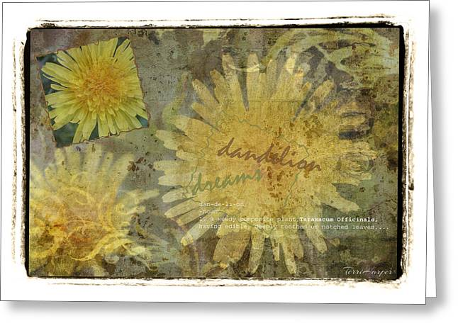 Dandelion Dreams Greeting Card