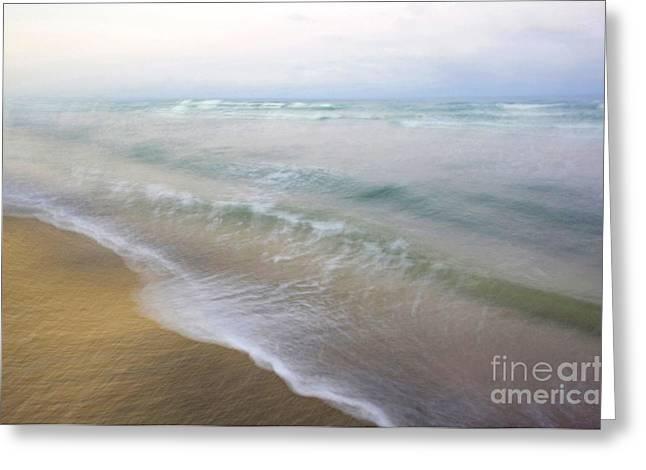 Dania Beach Greeting Card by Glennis Siverson