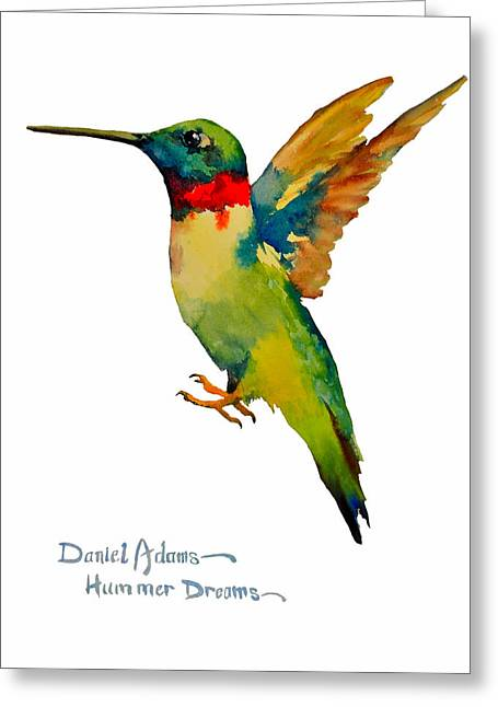 Da166 Hummer Dreams Daniel Adams Greeting Card