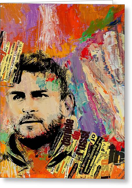 Daniele De Rossi Greeting Card by Corporate Art Task Force