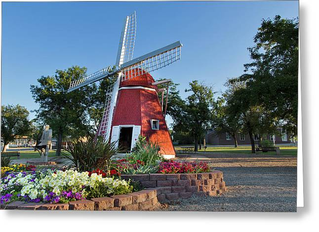 Danish Mill Built In 1902 Resides Greeting Card