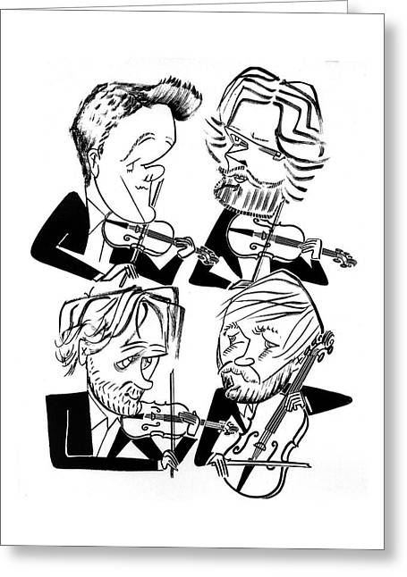 Danish String Quartet Greeting Card