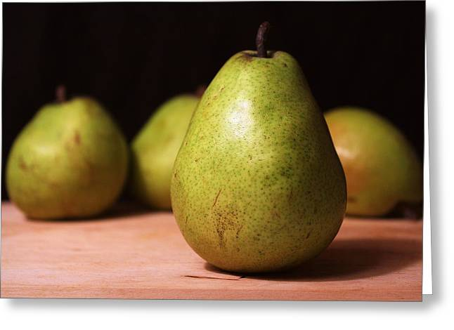 D'anjou Pears Greeting Card by Joseph Skompski