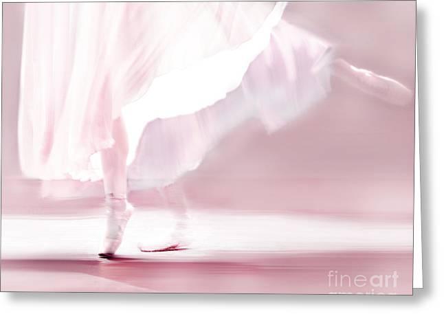 Danseur De Ballet Greeting Card by Linde Townsend
