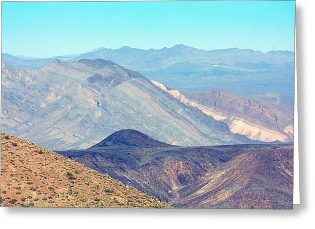 Greeting Card featuring the photograph Dante's View #5 by Stuart Litoff