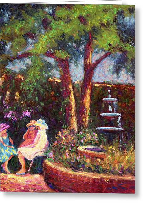 Dar Richards House Garden Party Greeting Card