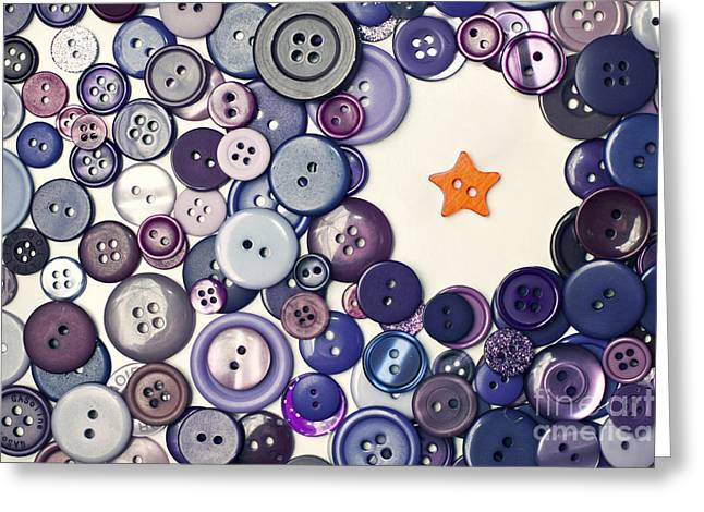 Dare To Be Different Greeting Card by Catherine MacBride