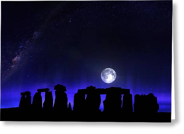 Dark Henge Greeting Card