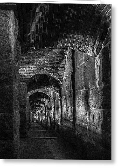 Dark Passage Greeting Card