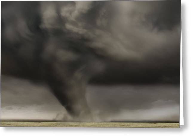 Dark Storm Greeting Card by Boon Mee