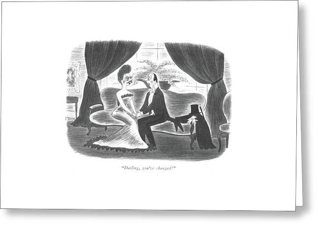 Darling, You've Changed! Greeting Card by Richard Taylor