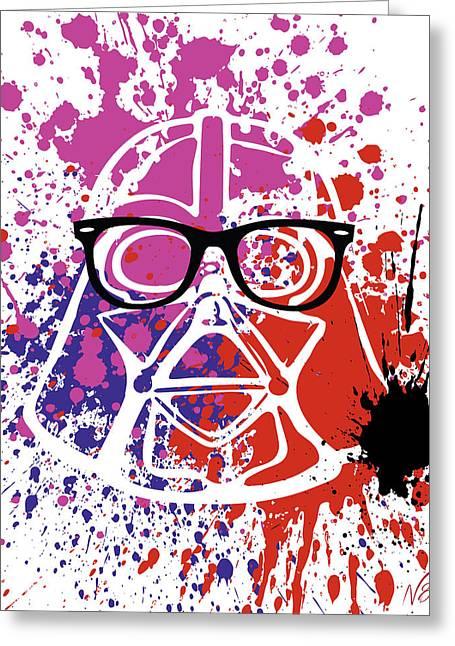 Darth Vader Corrective Lenses Greeting Card