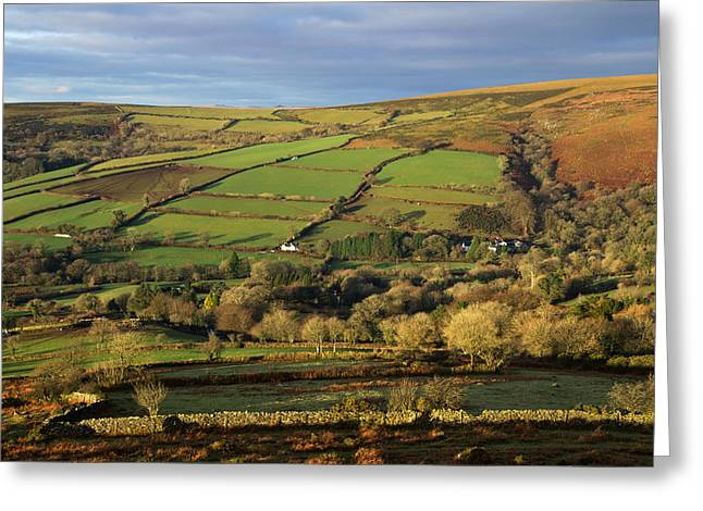 Dartmoor From Bonehill Greeting Card