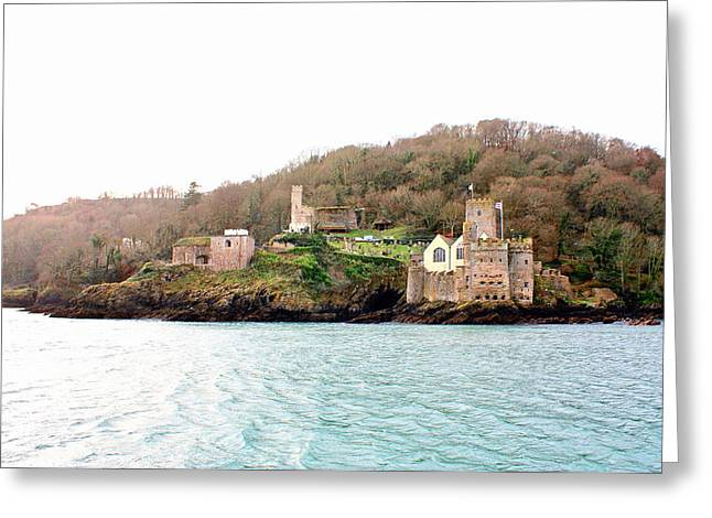 Dartmouth Castle And Church Greeting Card by Kevin F Cook