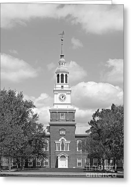 Dartmouth College Baker- Berry Library Greeting Card by University Icons