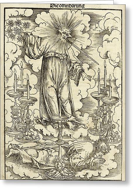 Das Newe Testament Deutzsch Greeting Card