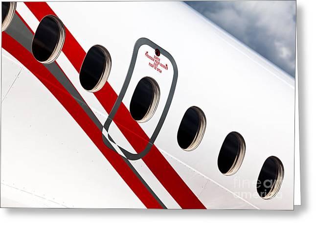 Dassault Falcon 900ex Greeting Card