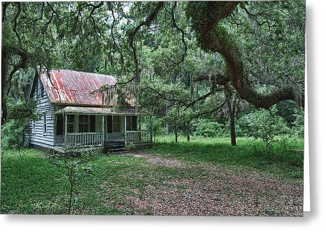 Daufuskie Homestead Greeting Card