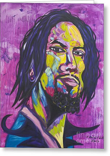 Dave Navarro Greeting Card by Coulter  Young