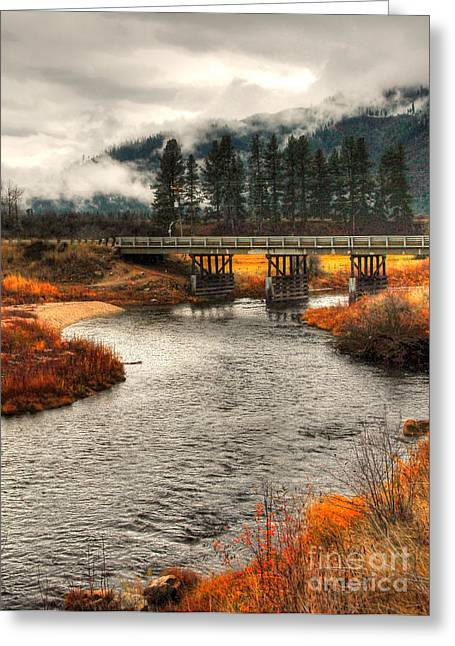 Daveys Bridge Greeting Card