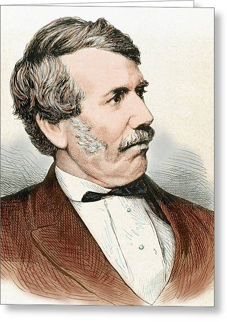 David Livingstone (1813-1873 Greeting Card by Prisma Archivo
