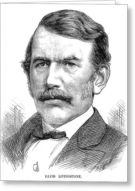 David Livingstone Greeting Card by Collection Abecasis