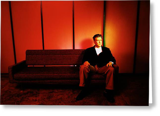 David Lynch Red Greeting Card