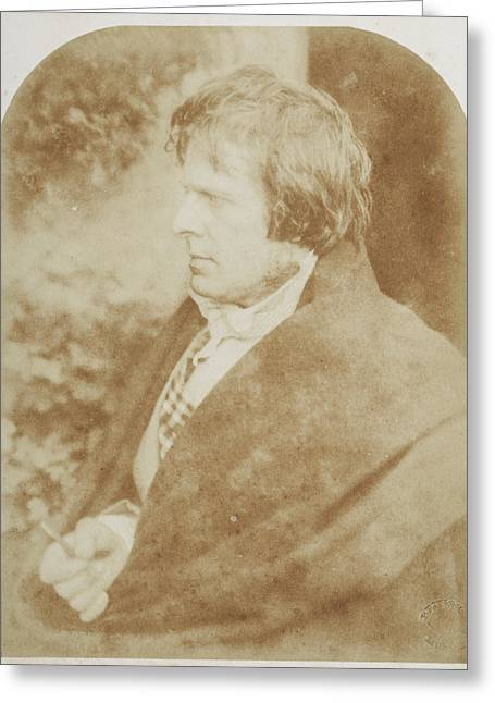 David Octavius Hill Greeting Card by British Library
