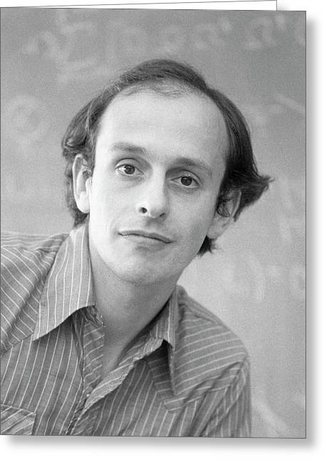 David Politzer Greeting Card by Emilio Segre Visual Archives/american Institute Of Physics